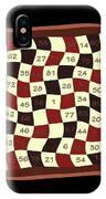 Order Nine Magic Square Puzzle IPhone Case