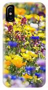 Oregon Wildflowers IPhone Case