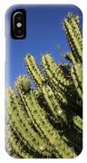 Organ Pipe Cactus Stenocereus Thurberi IPhone Case