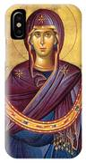 Orthodox Icon Virgin Mary IPhone Case