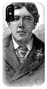 Oscar Wilde (1854-1900) IPhone Case