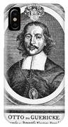 Otto Von Guericke (1602-1686) IPhone Case