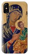 Our Mother Of Perpetual Help IPhone Case