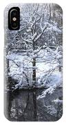 Our Pond In The Snow IPhone Case