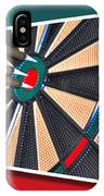 Out Of Bounds Bullseye IPhone Case