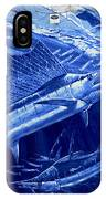 Out Of Sight Mens Blue Shirt IPhone Case