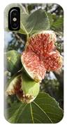 Over-ripe Figs On A Tree IPhone Case