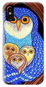 Owl And Owlettes IPhone Case