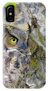 Owl Eye IPhone Case