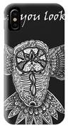 Owl In Flight IPhone Case