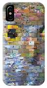 Owl Mosaic IPhone Case
