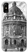 Oxford: Radcliffe Library IPhone Case