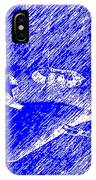 P 51 Mustang Flying In The Rain IPhone Case