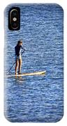 Paddle Boarding IPhone Case