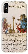 Page From Dioscoridess De Materia Medica IPhone Case