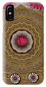 Pagoda Of Lotus Pop Art IPhone Case