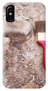 Paint Brush Next To Camarasaurus IPhone Case