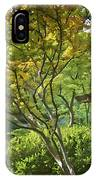 Painted Gardens IPhone Case
