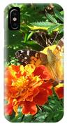 Painted Lady Butterfly IPhone Case