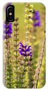Painted Purple Sage Salvia IPhone Case
