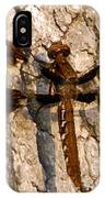 Painted Skimmer On Oak IPhone Case
