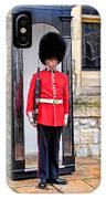 Palace Guard IPhone Case