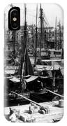 Palermo Sicily - Shipping Scene At The Harbor IPhone Case