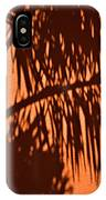 Palm Frond Abstract IPhone Case