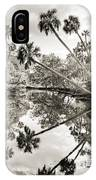 Palm Tree Reflections IPhone Case