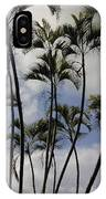 Palm Trees Oahu IPhone Case