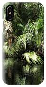 Palmettoes In The River IPhone Case