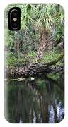 Palms On The River IPhone Case