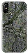 Palo Verde In The Rain IPhone Case