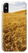 Palouse Wheat IPhone Case