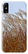 Pampas Grass In The Wind 1 IPhone Case