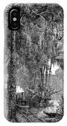 Panama Railway, 1875 IPhone Case