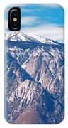 Panamint Mountain Range In Death Valley  IPhone Case