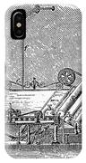 Paper Machine, C1880 IPhone Case