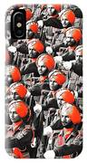 Parade March Indian Army IPhone Case
