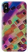 Paradichlorobenzene Crystals  IPhone Case