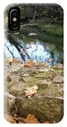 Paradise Springs Stone Wall IPhone Case