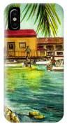Parguera Fishing Village Puerto Rico IPhone Case