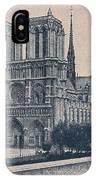 Paris - Notre Dame IPhone Case