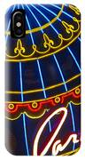 Paris Hotel Las Vegas IPhone Case