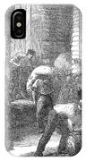 Paris: Les Halles, 1870 IPhone Case