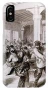 Paris: Pawnbroker, 1868 IPhone Case