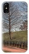 Park Bench IPhone Case