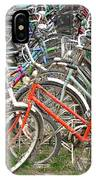 Parking Bicycles In Mako IPhone Case
