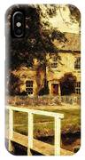 Passing Through The Cotswolds IPhone Case