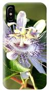 Passion Flower - May Pop Bloom IPhone Case